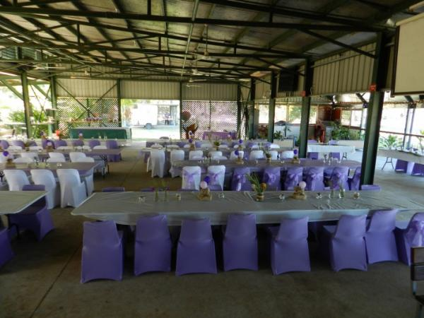 Wedding reception at livingstone recreation reserve
